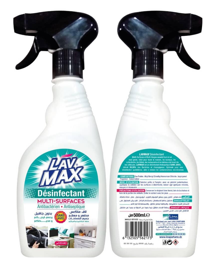 Désinfectant LAVMAX